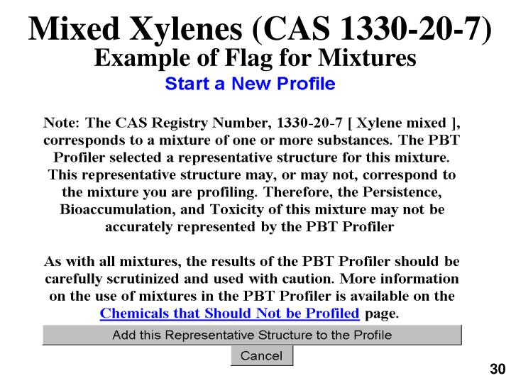 Mixed Xylenes (CAS 1330-20-7)