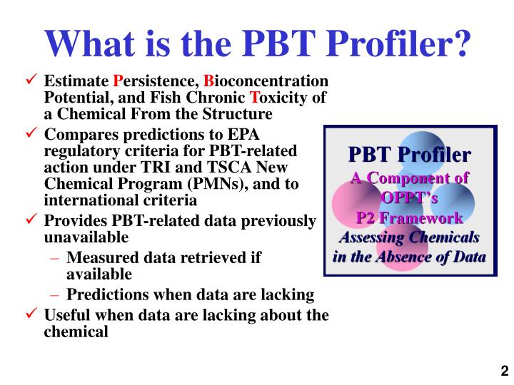 What is the PBT Profiler?