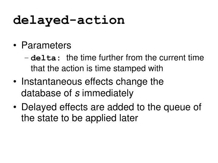 delayed-action