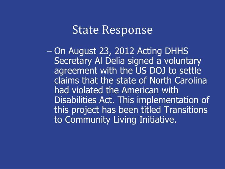 State Response