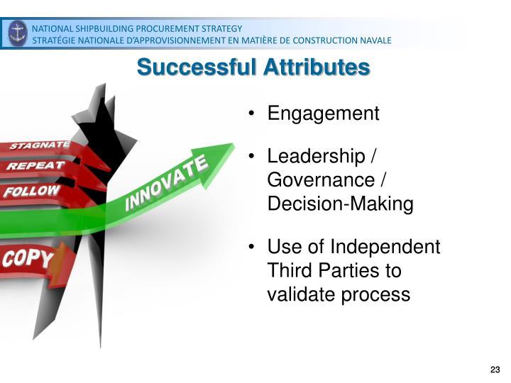 Successful Attributes