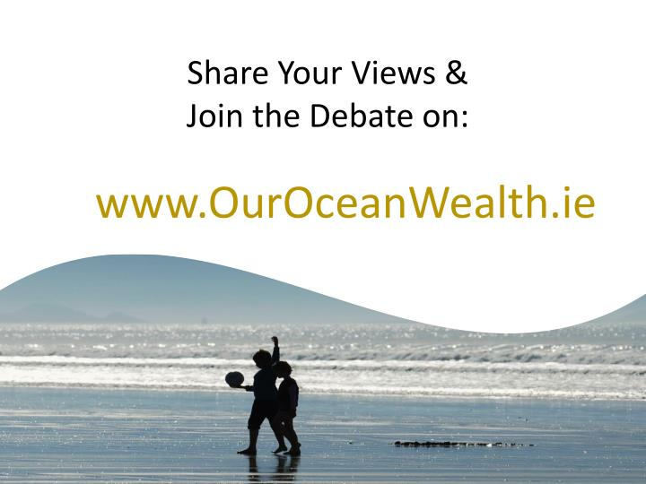 Share Your Views &