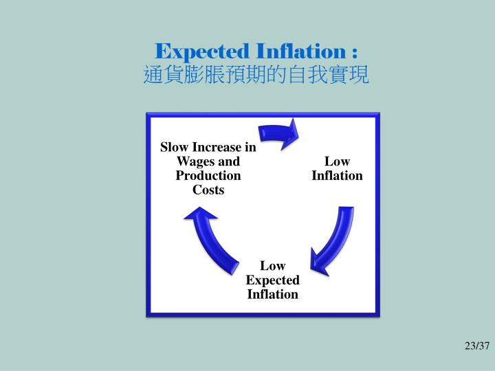 Expected Inflation :