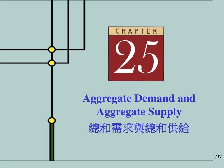 Aggregate Demand and