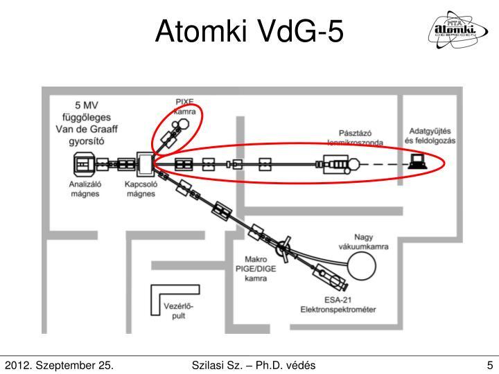 Atomki VdG-5