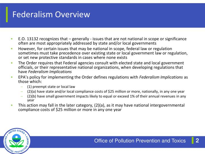 Federalism Overview
