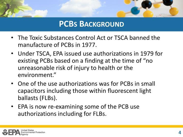 PCBs Background
