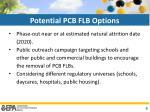 potential pcb flb options