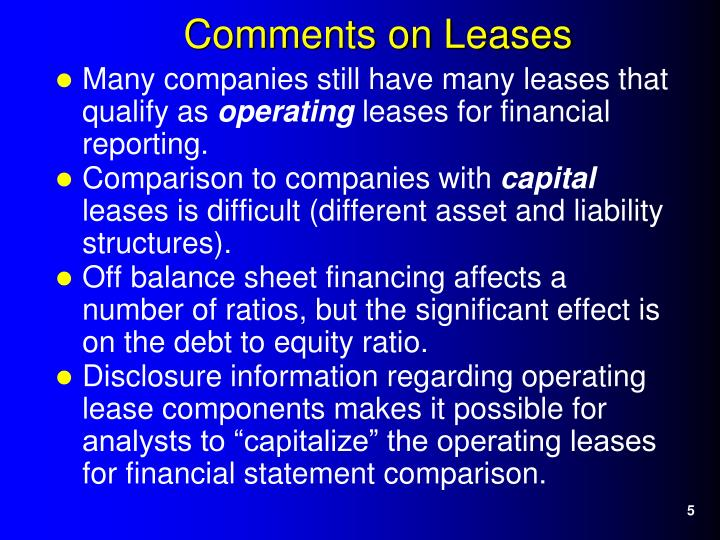 Many companies still have many leases that qualify as