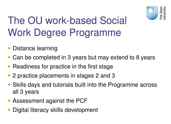 The OU work-based Social