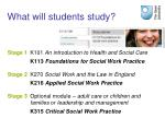 what will students study
