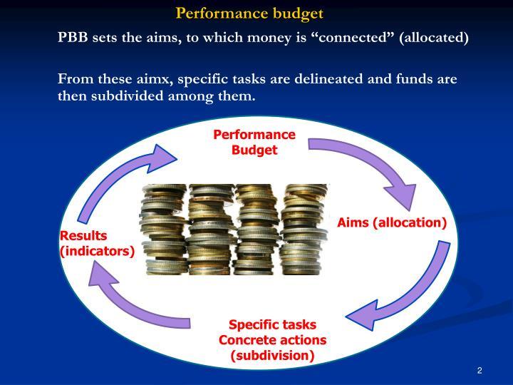 Performance budget