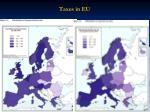 taxes in eu