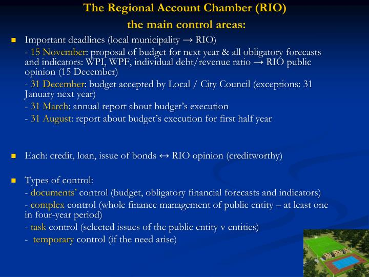 The Regional Account Chamber (RIO)