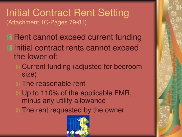 Initial Contract Rent Setting