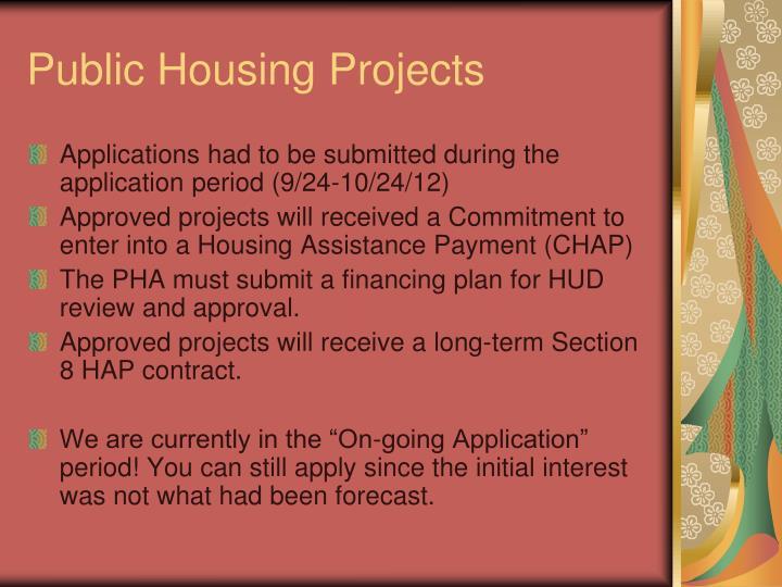 Public Housing Projects