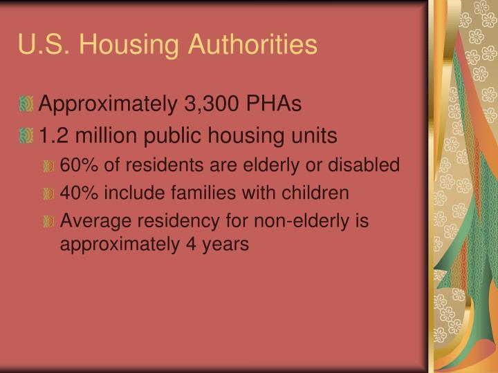 U.S. Housing Authorities
