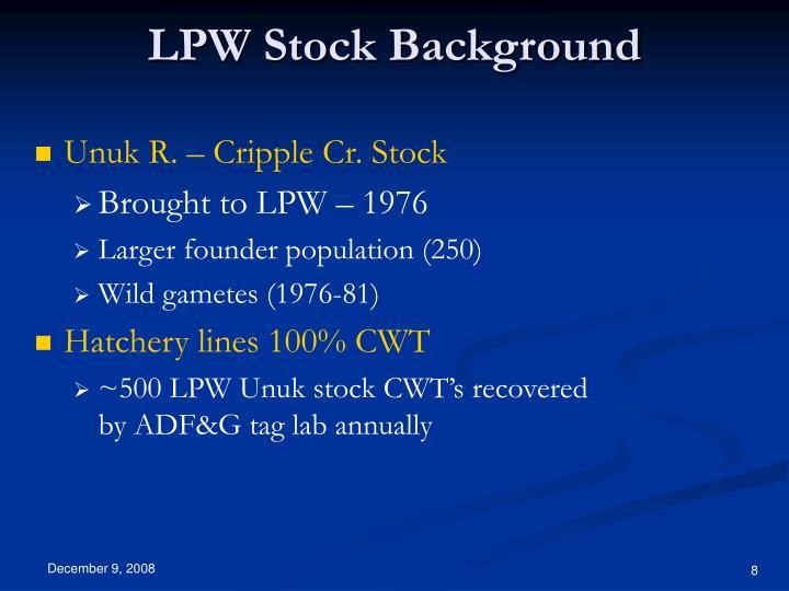 LPW Stock Background