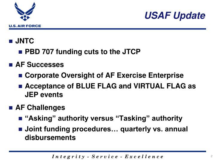 USAF Update