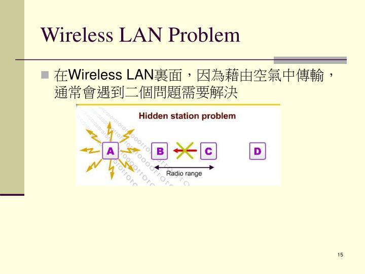 Wireless LAN Problem