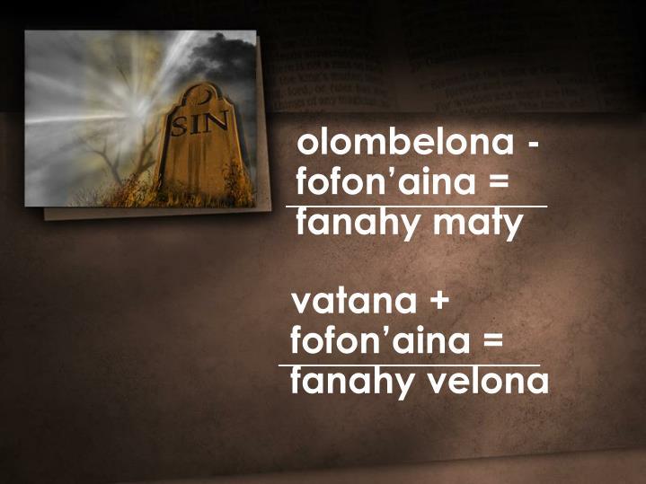olombelona -