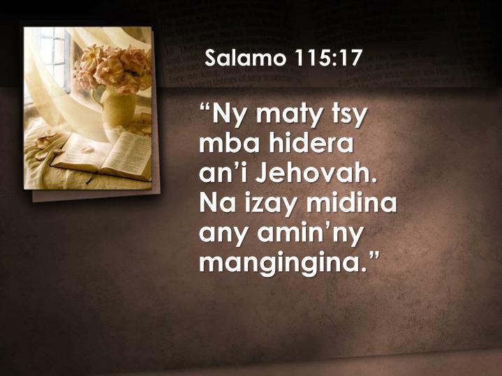 Salamo 115:17