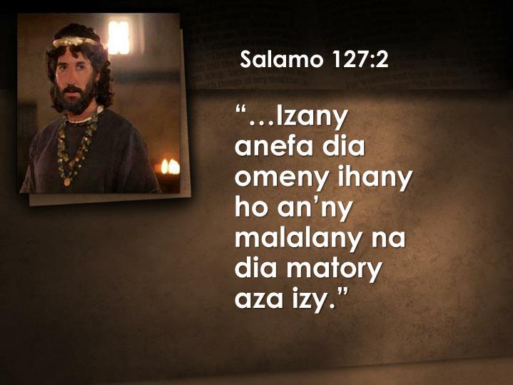 Salamo 127:2