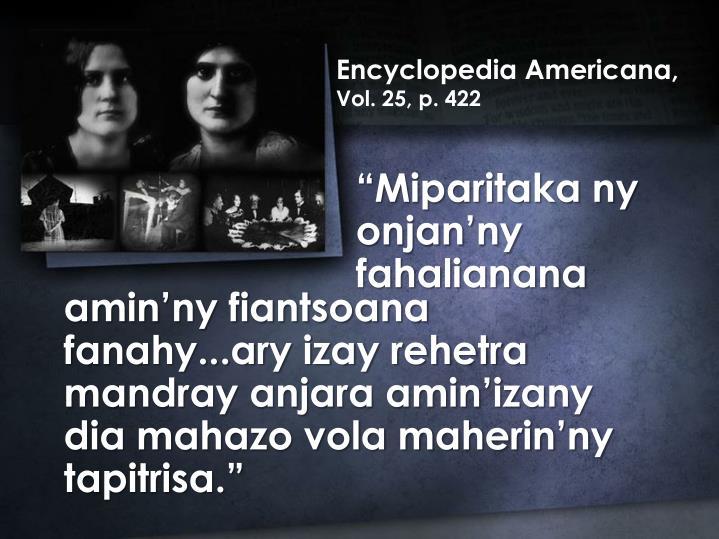Encyclopedia Americana,