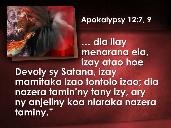 Apokalypsy 12:7, 9
