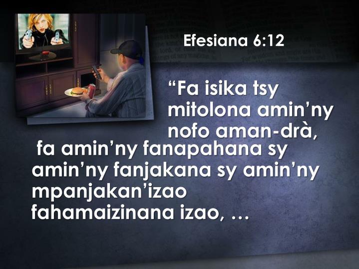 Efesiana 6:12