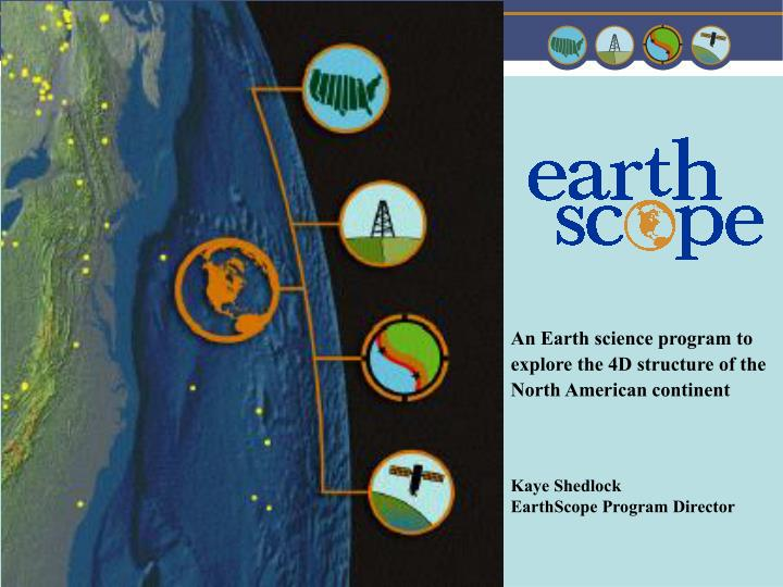 An Earth science program to