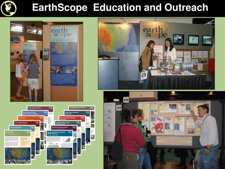 EarthScope  Education and Outreach