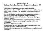 madison park iii madison park development corporation boston ma