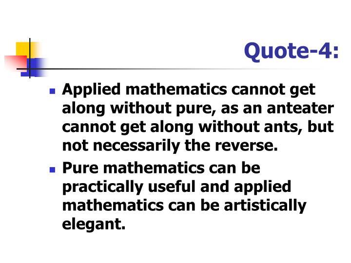Quote-4: