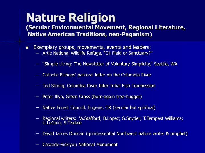 Nature Religion