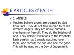 6 articles of faith1