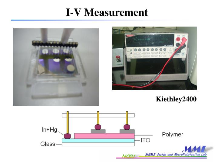 I-V Measurement