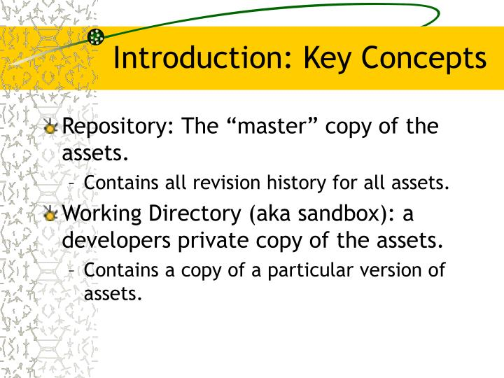 Introduction: Key Concepts