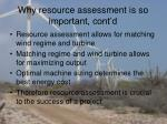 why resource assessment is so important cont d1