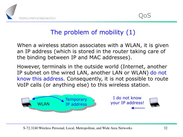 The problem of mobility (1)