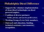 philadelphia diesel difference