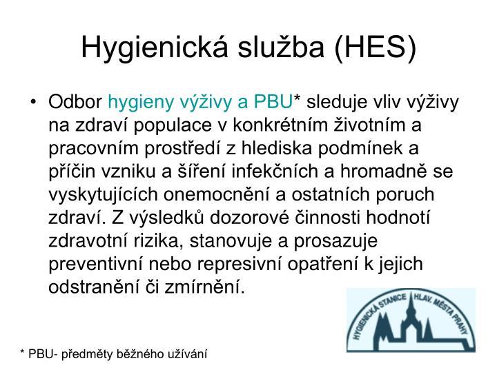 Hygienická služba (HES)