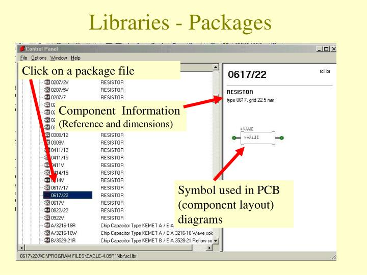 Click on a package file