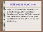 ieee 802 11 mac layer