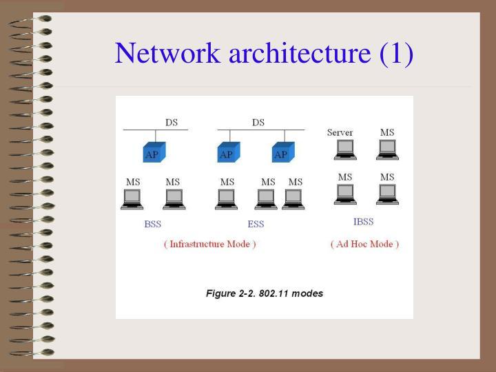 Network architecture (1)
