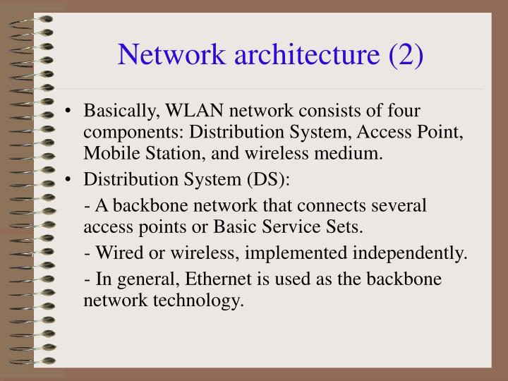 Network architecture (2)