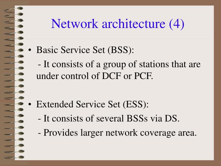 Network architecture (4)
