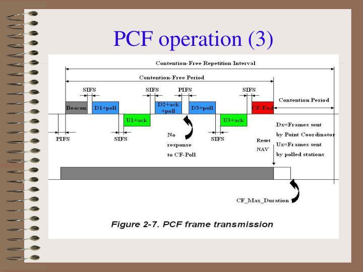 PCF operation (3)