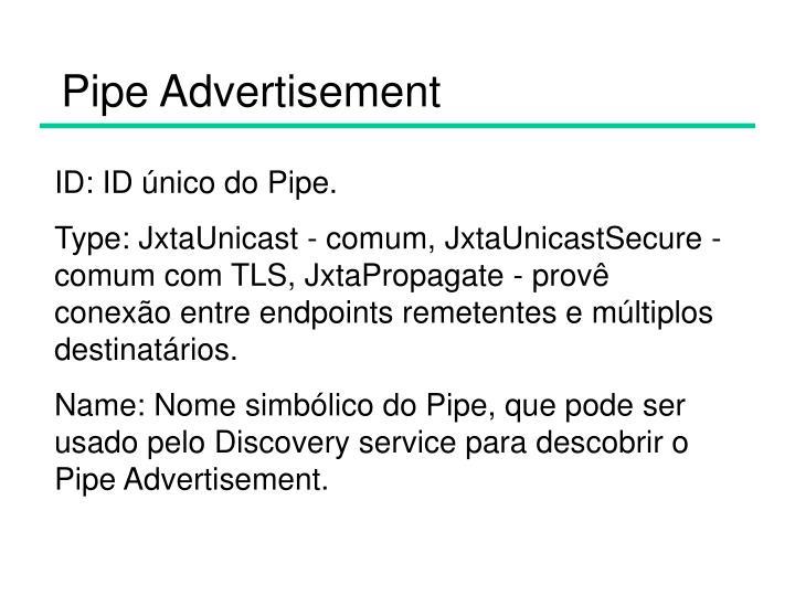 Pipe Advertisement