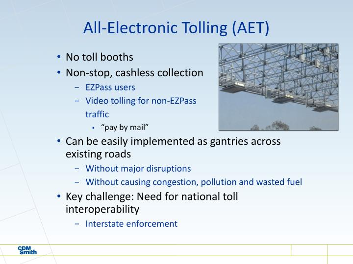 All-Electronic Tolling (AET)